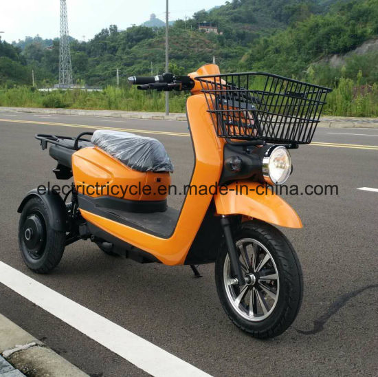 2000W Fast Food Delivery Electric Motorcycle Three Wheel