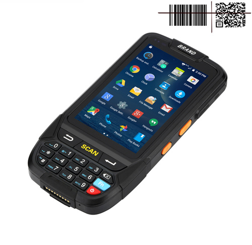 Android PDA Barcode Data Collector with Qr Code NFC Reader