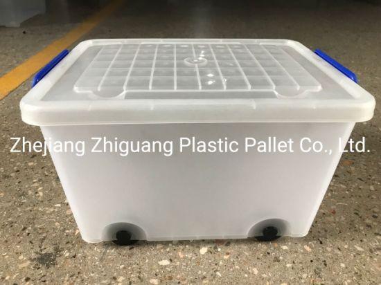 Easylock Wholesale Gift Box PP Plastic Storage Box 35L