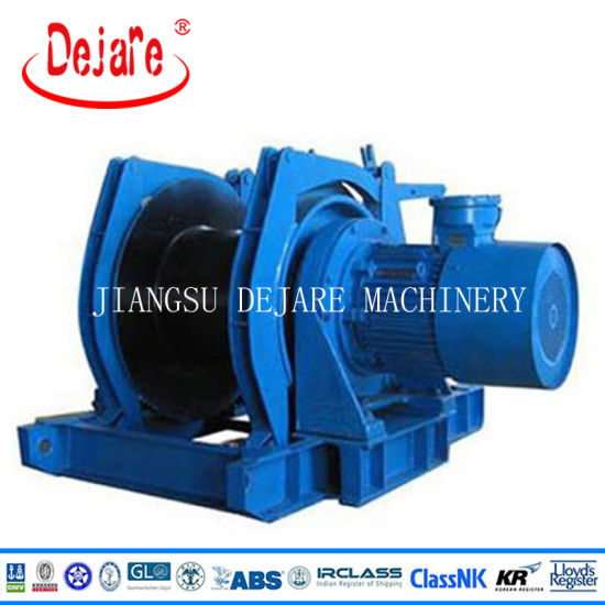 Electric Power Marine Winch for Ship