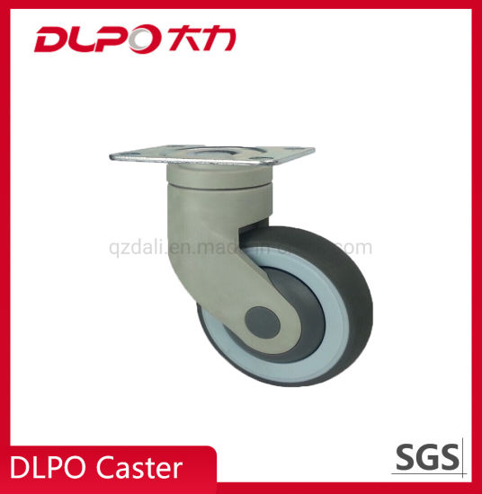 Dlpo Operating Room All Plastic Swivel Castor Wheel for Medical Cleaning Equipment