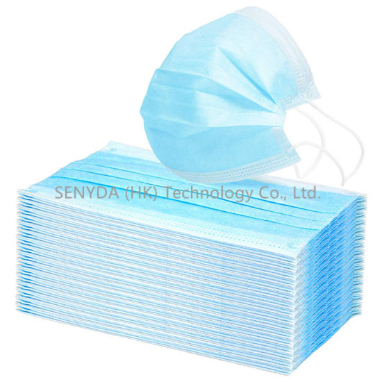 antivirus disposable face masks