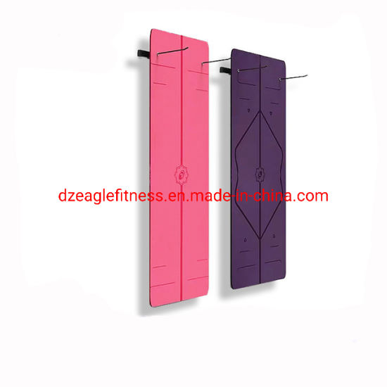 China Wall Mounted Hanging Exercise Yoga Wall Mat Rack Hanging Rack In Gym Equipment China Eva Foam Floor And Jexercise Taekwondo Mat Price