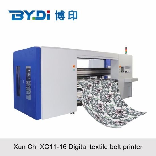 1.8m, Industrial Digital Textile Direct Printer Machine With16 Ricoh G6 Printhead