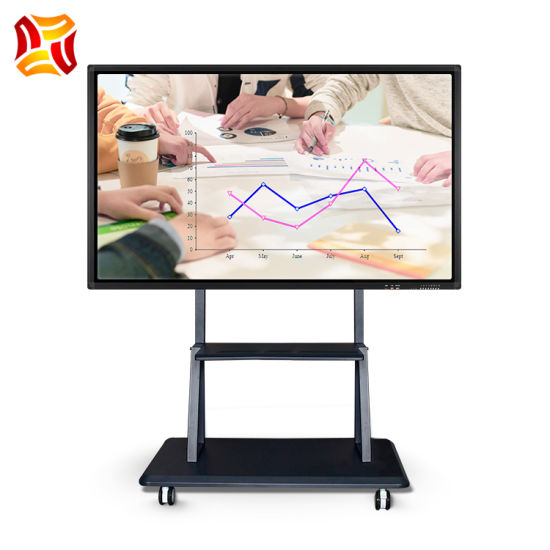 All in One PC Smart Board Interactive Electronic Whiteboard LCD Display for Conference Business Education