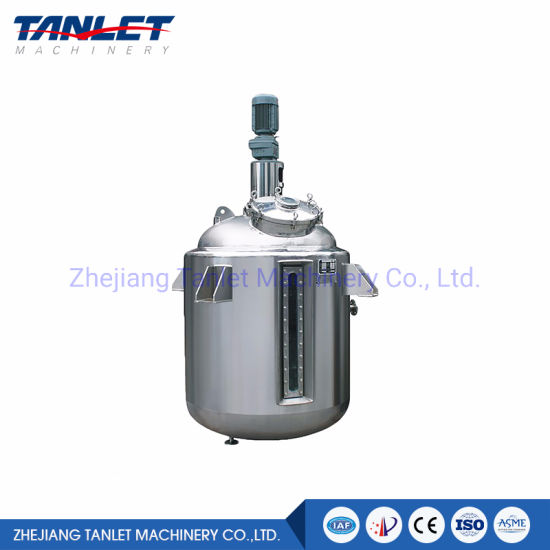 High Quality Emulsification Tank Mixing Tank Vacuum Emulsifying