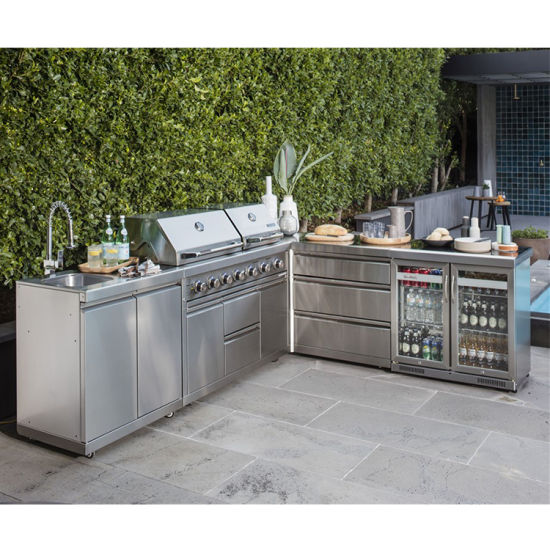 Bulk Exterior Movable Metal Kitchen, Movable Kitchen Cabinets With Sink