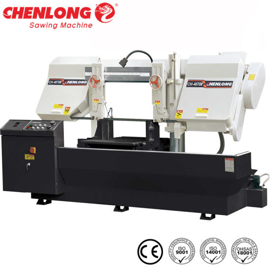 Band Sawing Machine for Cutting Mold Steels (CH-4070B) CE Standard