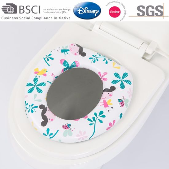 Multifunction Baby Training Soft Toilet Seat Plastic Baby Potty Seat