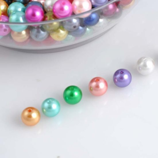 Mixed Self Adhesive Pearl Stickers Pink /& Lilac Gems Flat-back Pearl