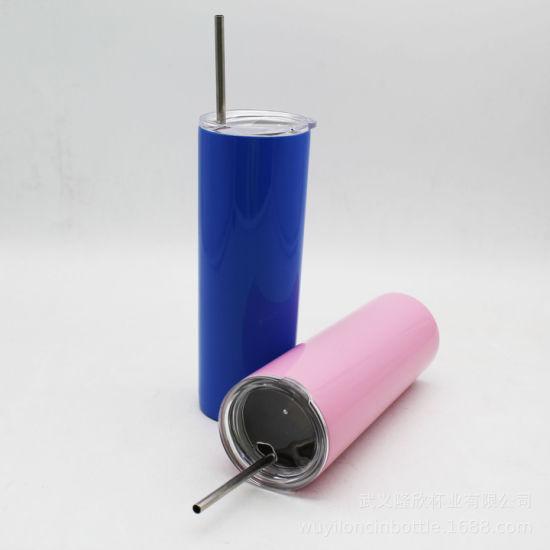China 20oz Vacuum Tumbler Stainless Steel Skinny Tumbler