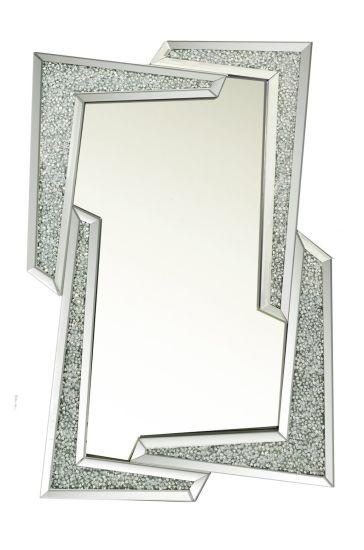 Home Decor Diamond Crush Wall Mirror