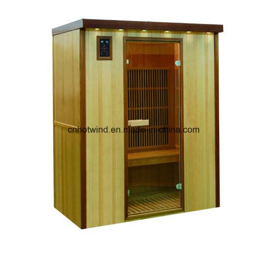 Quatity Hotwind Sauna 3 Persons Carbon Heater Infrared Sauna Room