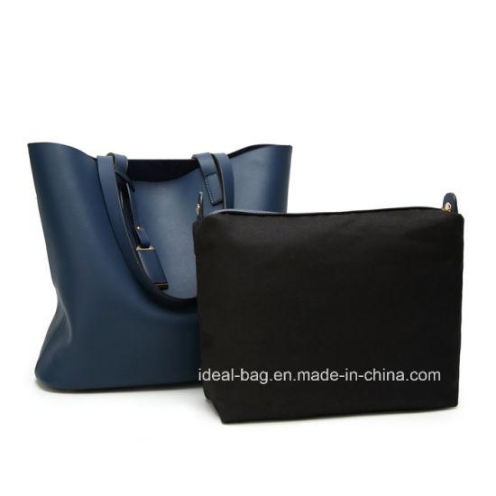 549620b47 China Wraxy PU Leather Ladies Designer Handbag 2PCS Set