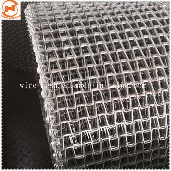 Stainless Steel Horseshoe Wire Conveyor Wire Mesh Belt pictures & photos