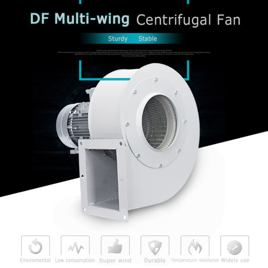 (DF) Widely Used Centrigufal Blower 120W-2.2kw 220/380V 50Hz with Super Wind