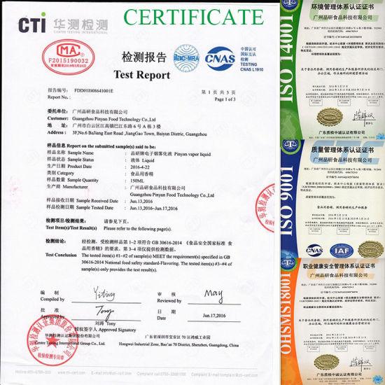 [Hot Item] Pinyan Environmental Protection Design OEM Available Black  Cherry Flavor E Liquid E Juice