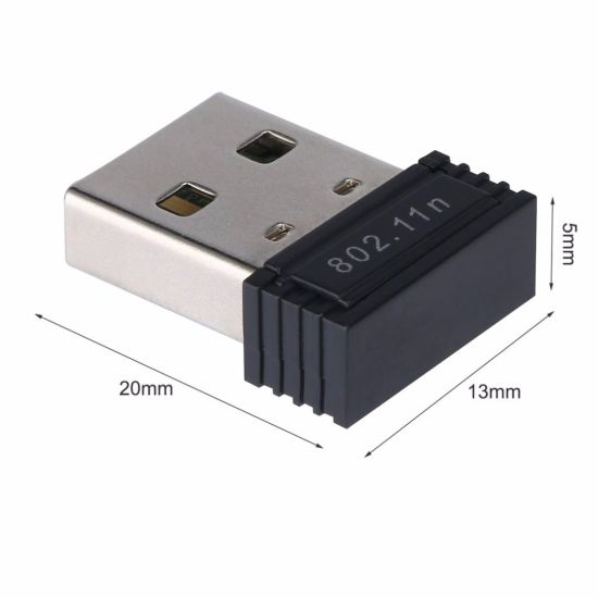 150Mbps Mini Rtl8188cus USB WiFi Adapter WiFi Adapter for Android Tablet pictures & photos
