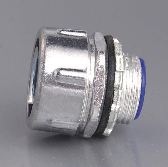 Plum Type Male Flexible Conduit Connector