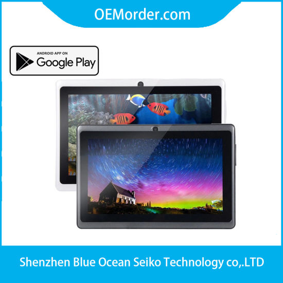 7 Inch Tablet Q88 for Wholesale Quad Core Tablet PC