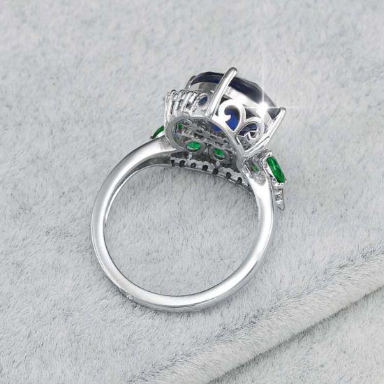 China Latest Designs 925 Italian Silver Finger Ring Women