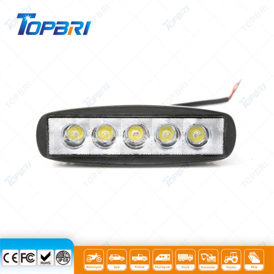 6inch 15W Offroad LED Auto Work Lamps for Trucks Boats pictures & photos