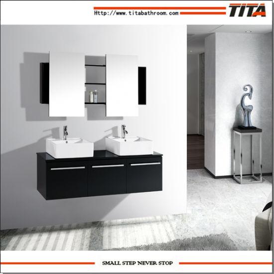 Solid Wood Bathroom Vanity/Solid Wood Bath Vanity/Cabinet for Bathroom (T9017)