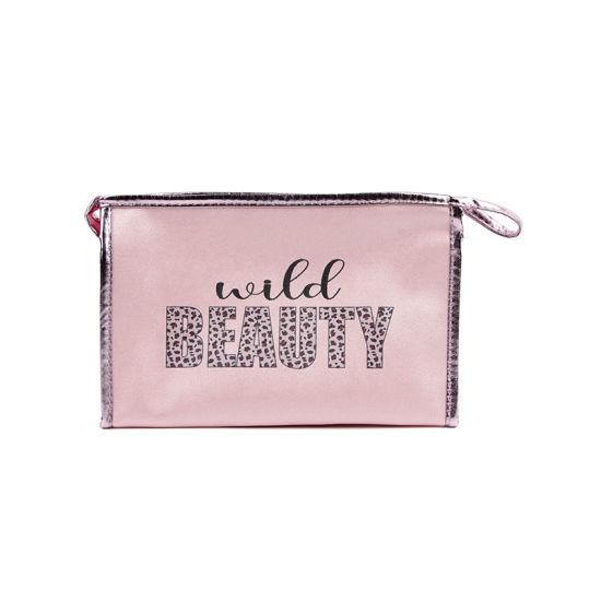 PU Make up Bag Large Capacity Zippper Cosmetic Bag