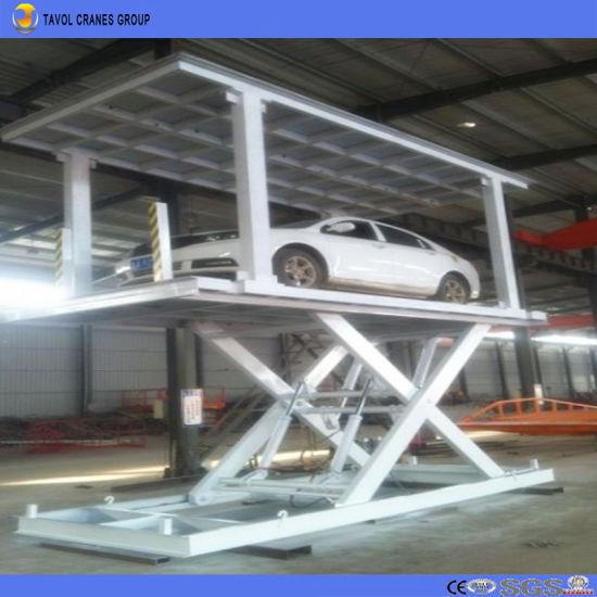 China Dock Level Loading Unloading Scissor Electrical Lift