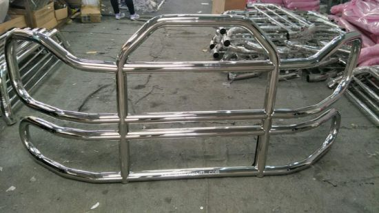 304 Stainless Steel Grille Guard Front Bumper for Cascadia