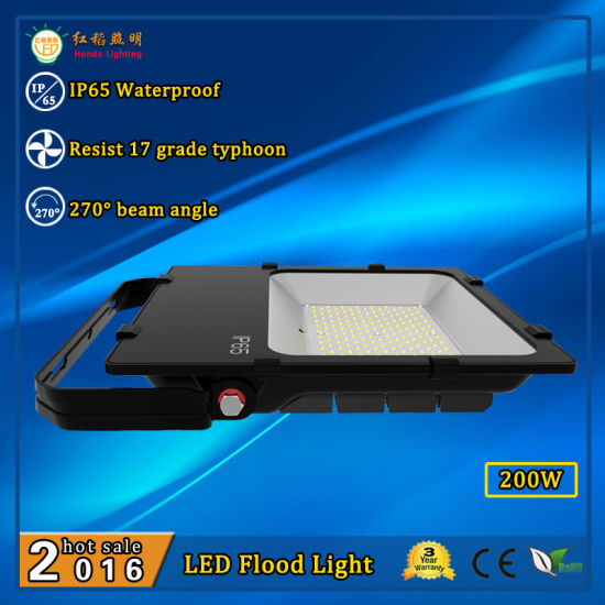 10/20/30/50/100/150/200/240W 110lm/W Slim Outdoor LED Flood Light Fixtures