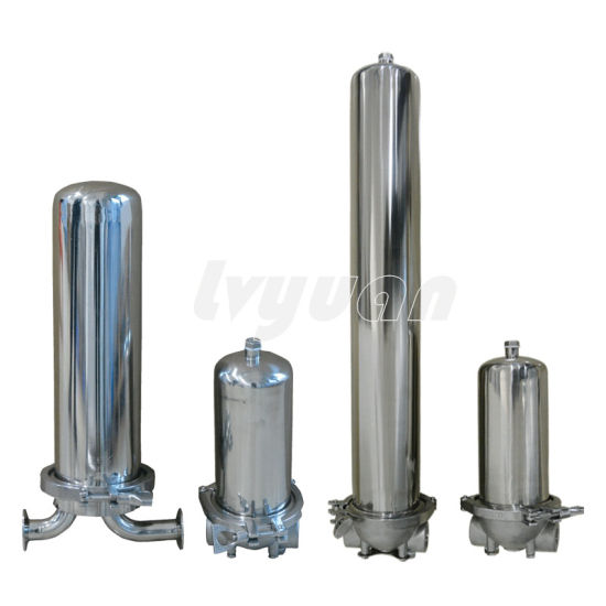 """Stainless Steel 304 316 Slim 10"""" 20"""" Cartridge Water Filter Housing for Drinking Pure Water Filter"""