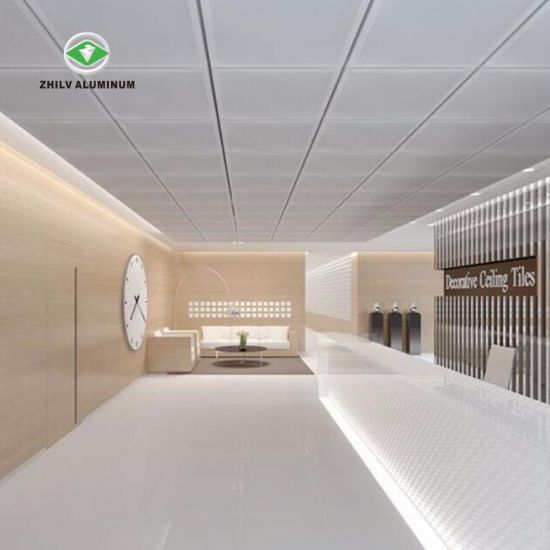 Beau Hot Sale Soundproof Aluminum Metal False Ceiling Panel For Office