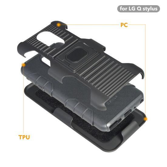 China for LG Phone Case, for LG Stylo 4 Belt Clip Holster