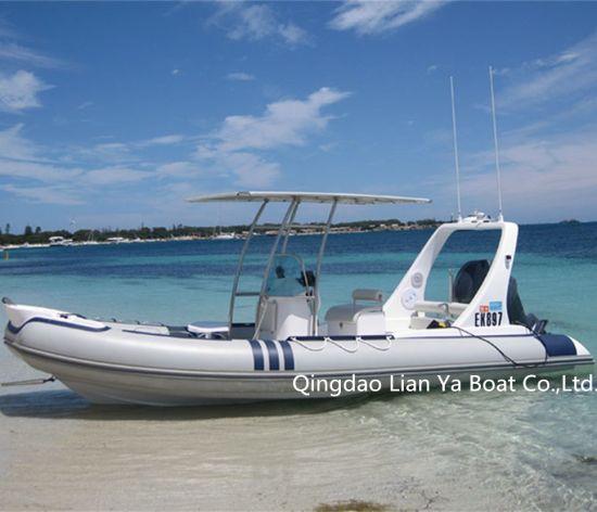 Liya 20′ Rib Boat Fast Speed Boat Passenger Boat Ship