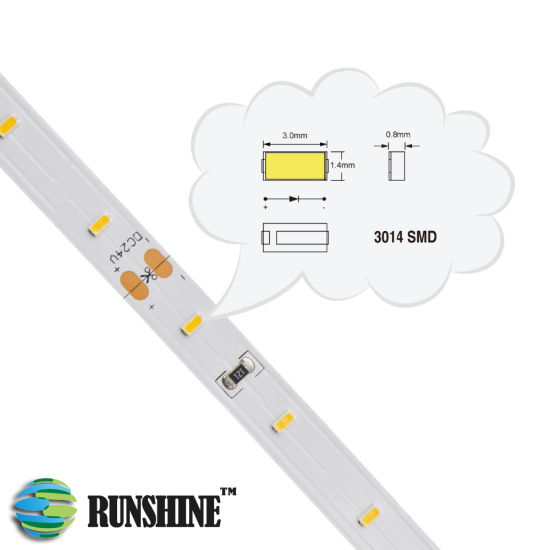 China LED Strip 3014 SMD Light with Ce RoHS Certification (7.2 W /M ...