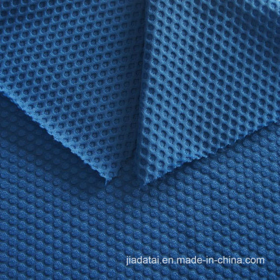 386efdded76a9 China Nylon Elastane Honeycomb Jacquard Mesh Fabric for Sport Bra ...