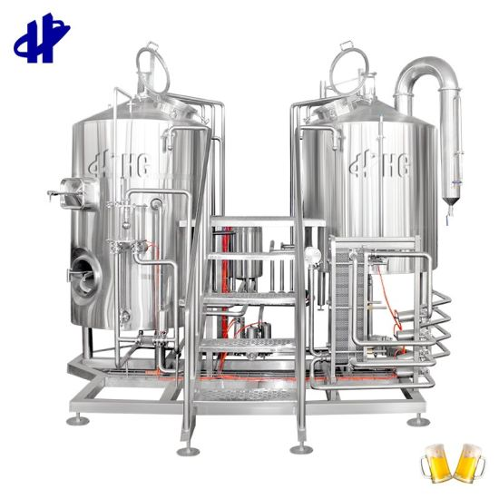500L 1000L Professional Mini Beer Making Machine Beer Manufacturing Plant for Pub Ale Beer Brewing Equipment Brew