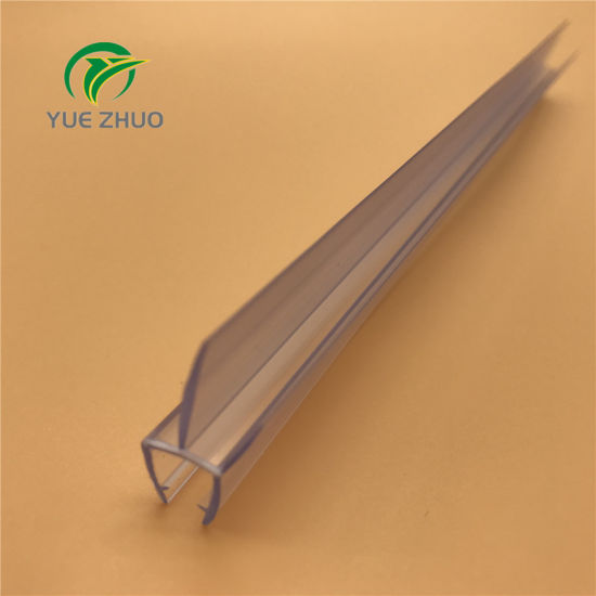 PVC Plastic Rubber Seal Weather Strip For Sliding Or Bathroom Shower Glass  Door