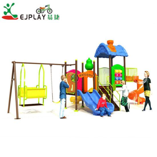 Kindergarten Small Size Outdoor Plastic Children Outdoor Playground of Tube Spirial Slides Equipment Toys