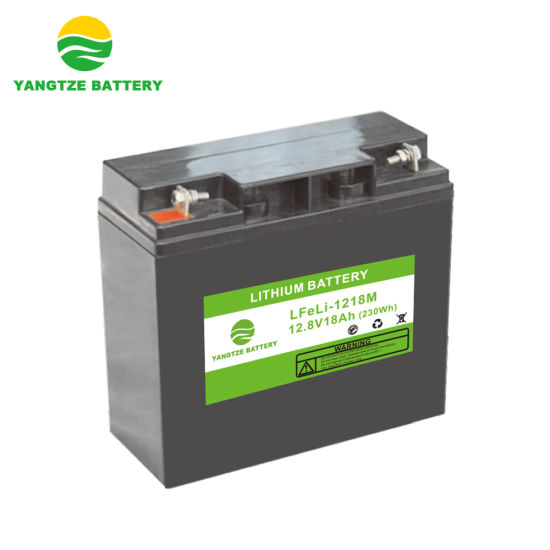 12V 18ah LiFePO4 Lithium Ion Battery Pack with BMS and Protection Board