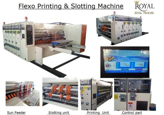 Full Automatic Flexo Printing and Slotting Machine