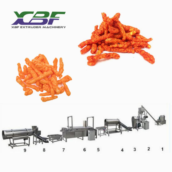 Best Price High Capacity Kurkure Cheetos Corn Curls Snacks Food Making Machine pictures & photos