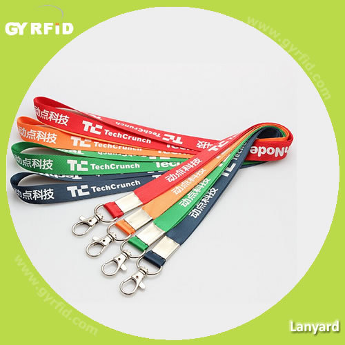 Ly1202 Lanyard Nylon for Exhibitions (GYRFID) pictures & photos