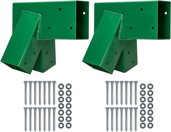 Wooden Swing Set Brackets with Green Color pictures & photos