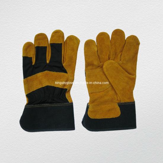Cow Split Leather Work Glove (3088)