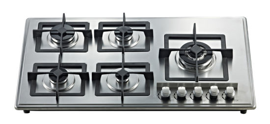 Build-in Gas Stove with Five Cast Iron Burner Jz5-Oh-Bz01 pictures & photos
