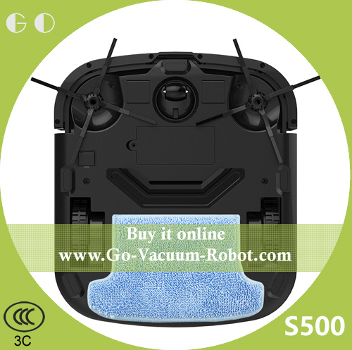 Intelligent Household Cleaning Robot Cacuum with Strong Suction Dry Wet Function Sweeping pictures & photos