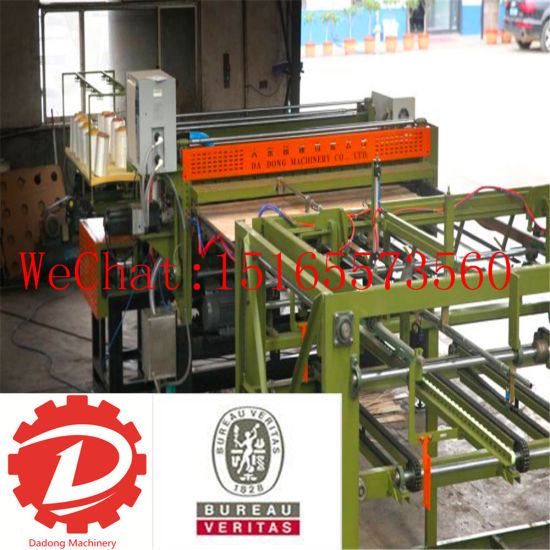 Wooden Plate Plywood Machine Automatic Core Veneer Machinery pictures & photos