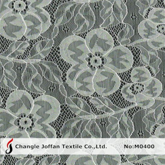 Cord Elastic Lace Fabric by The Yard (M0400)